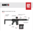 Barrett REC7 DI Fighter Pistol sport karabély - .223 Rem