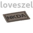 NKDA felvarró - RAL7013