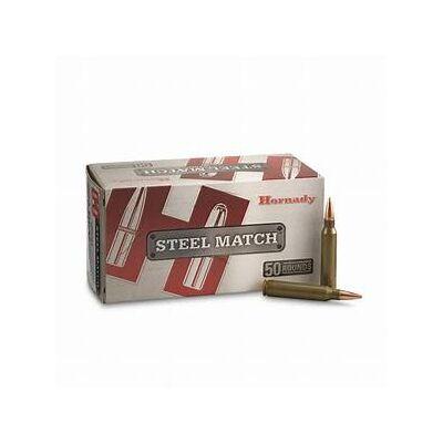Hornady Steel Match 75gr BTHP 223 Rem lőszer
