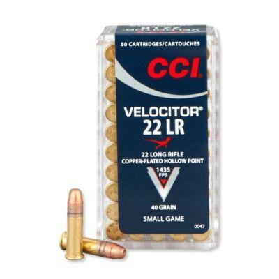 CCI Velocitor CPHP 40gr .22LR lőszer