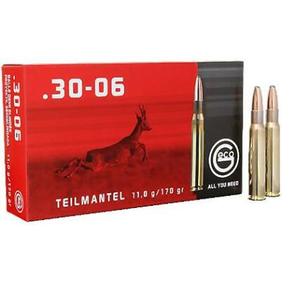 Geco Teilmantel 170gr Soft Point .30-06 Spr. lőszer