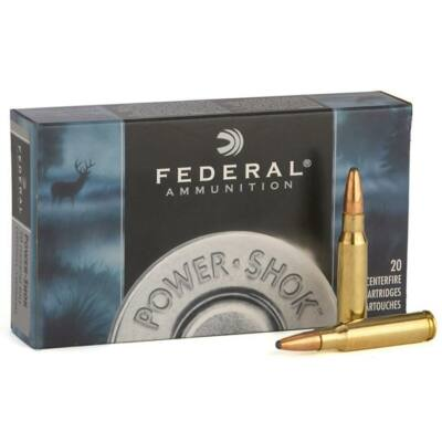 Federal Power-Shok 180rg Soft Point .30-06 Spr. lőszer