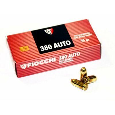 Fiocchi .380 ACP FMJ pisztoly lőszer - 95gr
