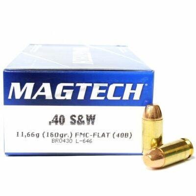 Magtech 40S&W FMJ lőszer - 180 gr