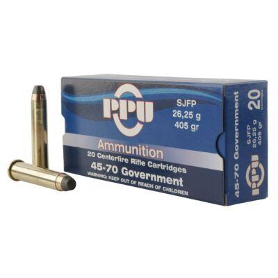 PPU SJFP 405gr 25.25g 45-70Gov lőszer