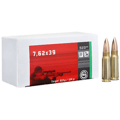 Geco 7,62x39 FMJ 8,0g 124gr lőszer