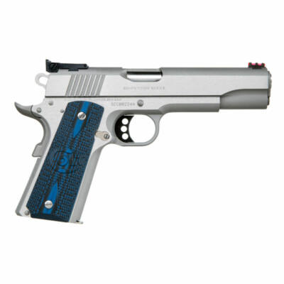 Colt 1911 Competition Stainless Steel - 9mm Luger