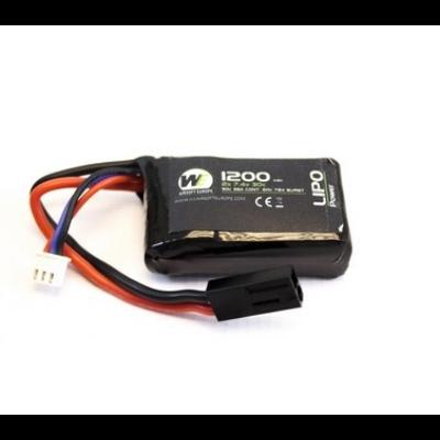 Nuprol Power LiPo PEQ15 Micro 1200mah 7.4V AEG akkumulátor