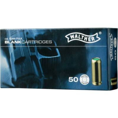 Walther 9mm PAK riasztó töltény