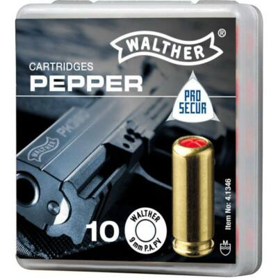 Walther Pro Secur 9mm PA PV Pepper 120mg gáztöltény