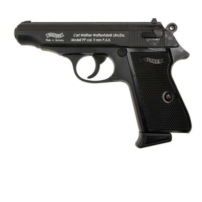 Wather PP gáz-riasztó pisztoly - fekete