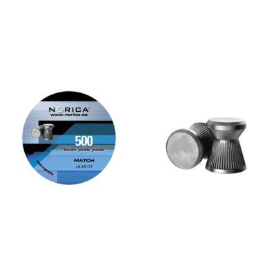 Norica Match 4.5mm léglövedék (500db)