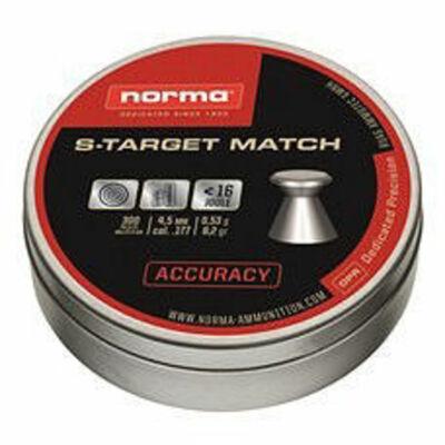 Norma S-Target Match 5.5mm léglövedék (200db)