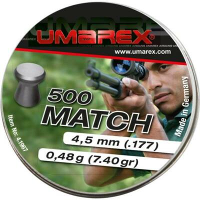 Umarex Match 4.5mm léglövedék (500db)