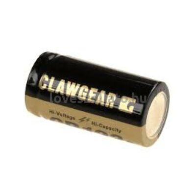 Clawgear CR123 Lithium 3V elem - 1400 mAh