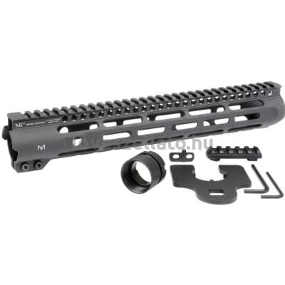 "Midwest Industries AR-15 Slim Line M-LOK előagy - fekete - 12.625"""