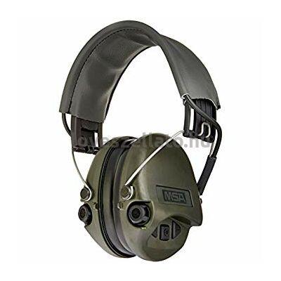 MSA Sordin Supreme Pro Gel aktív hallásvédő - OD Green - 25dB