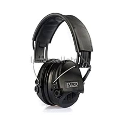MSA Sordin Supreme Pro aktív hallásvédő - fekete