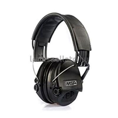MSA Sordin Supreme Pro Gel aktív hallásvédő - fekete - 25dB