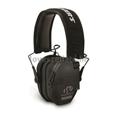 Walkers Razor Slim aktív hallásvédő - Black - 23dB
