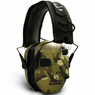 Walkers Razor Slim aktív hallásvédő - Multicam - 23dB