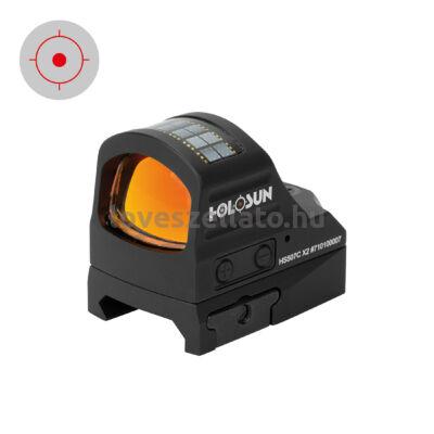 Holosun Classic HS507C X2 Solar Red Circle Dot irányzék