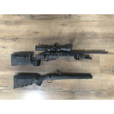 Remington 700 SPS Tactical ismétlő puska KRG Bravo precíziós agyazással és Primary Arms GL3-16x50 céltávcsővel - 308 Win (bizományi)