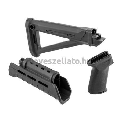 Magpul AK47 MOE válltámasz /  tusa és előagy szett M-LOK - fekete