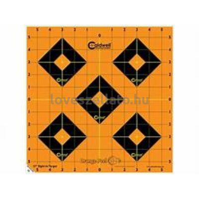 "Caldwell Orange Peel 12"" belővő lőlap - 5 db"