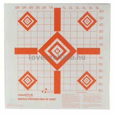 Champion Targets Sight-In belővő lőlap