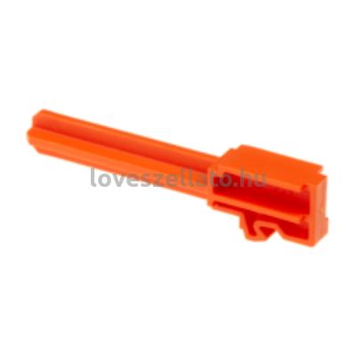 Glock 26 műanyag gyakorló pisztolycső