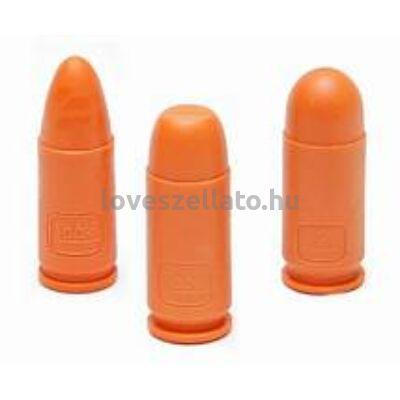 Glock 9x19 mm műanyag gyakorló töltény