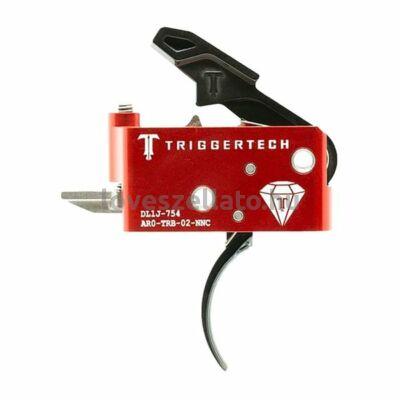 TriggerTech Diamond AR15 elsütőszerkezet - Curved Black