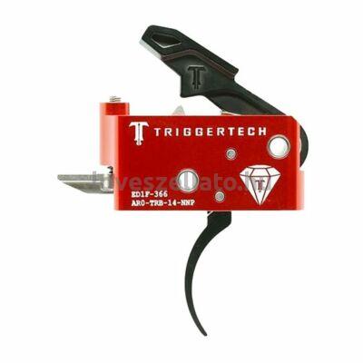 TriggerTech Diamond AR15 elsütőszerkezet - Pro Black
