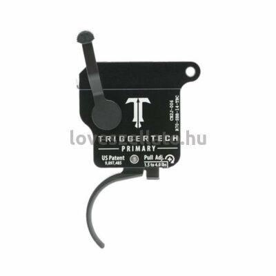 TriggerTech Primary Remington 700 elsütőszerkezet - Curved Black