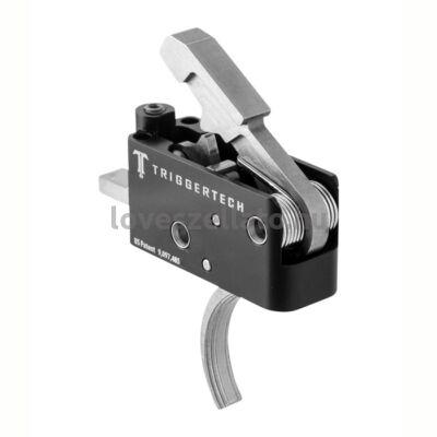 TriggerTech TT-AR15 állítható 2.5-5 fontos elsütőszerkezet - Curved Stainless